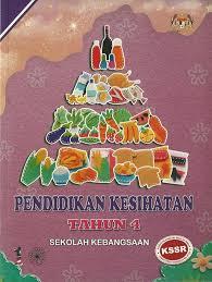 Buku Teks Pendidikan Kesihatan Tahun 4 Sk Syabab Online Bookstore